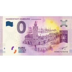 DE - Hansenstadt Hamburg - Landungsbrücken - Limited Edition - 2017
