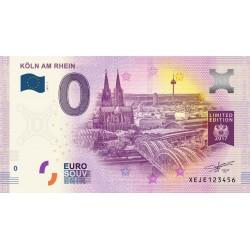 DE - Köln am Rhein - N° 2 - Limited edition - 2017