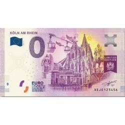 DE - Köln am Rhein - N° 3 - Limited edition - 2017