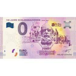 DE - Schloss Burg N° 6 - 130 Jahre Schlossbauverein - 2017