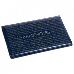 Album de poche ROUTE Banknotes 210mm X 125mm