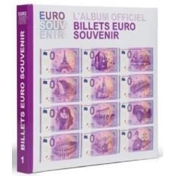 Album Pré-imprimé 2015 - Leuchtturm - pour billets 0€ - avec billet spécimen