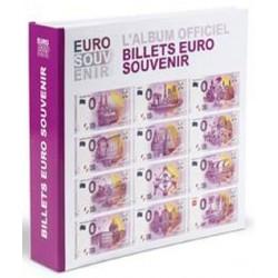 Album billets étrangers 2017 - Leuchtturm - pour billets 0€ - avec billet spécimen