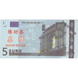 Billet fantaisie - 5 euro - chinois