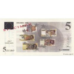 Billet fantaisie - 5 euro - Spécimen - 1998