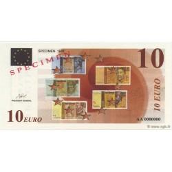 Billet fantaisie - 10 euro - Spécimen - 1998