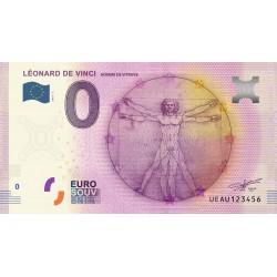 37 - Léonard De Vinci - Homme de Vitruve - 2016