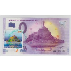 50 - Abbaye du Mont St-Michel - revers Big Ben - 2017