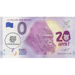 86 - La vallée des singes - 20 ans - 2018 (tamponné)