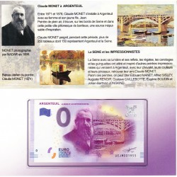 95 - Argenteuil - La Seine et les impressionnistes - Encart 2017