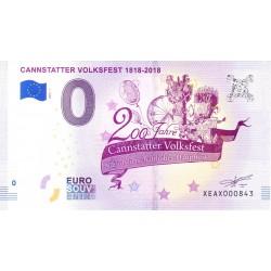 DE - CANNSTATTER VOLKSFEST 1818-2018 - 2018