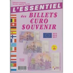 L'Essentiel des billets Euro souvenir