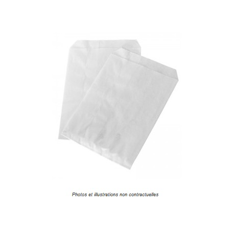Sachets photos ou cartes postales kraft blanc
