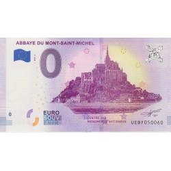 50 - Abbaye du Mont St-Michel - revers Big Ben - 2018