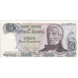 Cinco Pesos Argentinos