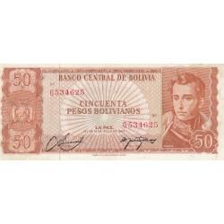 Cincuenta Pesos Bolivianos