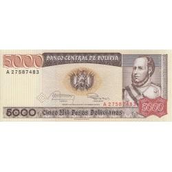 Cinco Mil Pesos Bolivianos