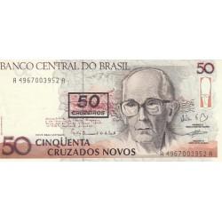 Cinqüenta Cruzeiros - Cinqüenta Cruzados Novos