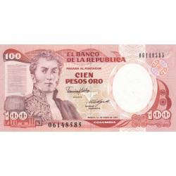 Cien Pesos Oro - Colombie