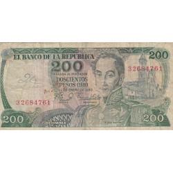 Doscientos Pesos Oro - Colombie