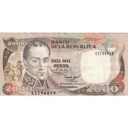 Dos Mil Pesos - Colombie