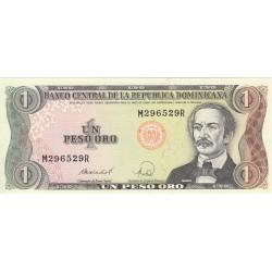 Un Peso Oro - République Dominicaine