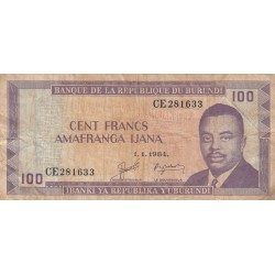 Cent Francs Amafranga Ijana