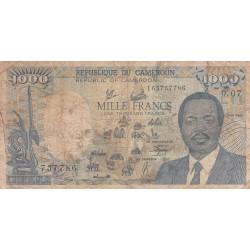 Mille Francs - Cameroun