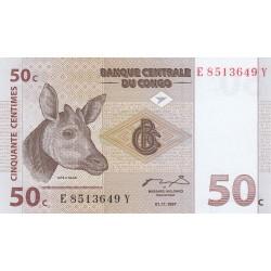Cinquante centimes - Congo