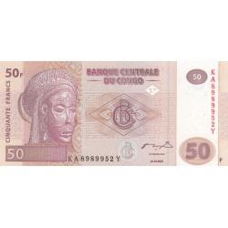 Cinquante Francs - Congo