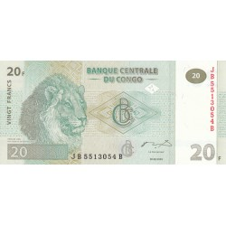 Vingt Francs - Congo