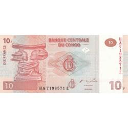 Dix Francs - Congo