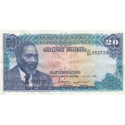 Twenty shillings / Shillingi Ishrini - Kenya