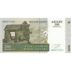 Deux Cent Ariary / Roan-Jato Ariary - Madagascar