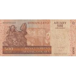Cinq Cent Ariary / Diman-Jato Ariary - Madagascar