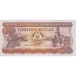 Cinquenta Meticais - Mozambique