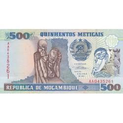 Quinhentos Meticais - Mozambique