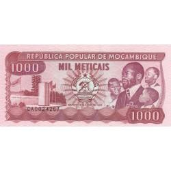 Mil Meticais - Mozambique
