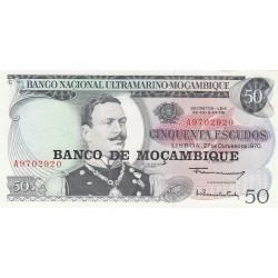 Cinquenta Escudos - Mozambique