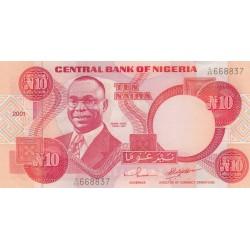 Ten Naira - Nigéria