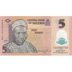 Five Naira - Nigéria