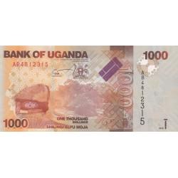One thousand Shillings / Shilingi Elfu Moja - Ouganda