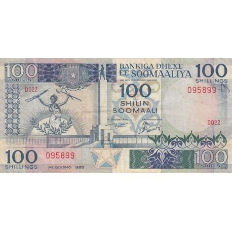 One Hundred Shillings - Somalie