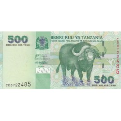 Five Hundred Shillings - Tanzanie