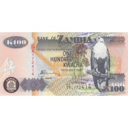 One Hundred Kwacha - Zambie