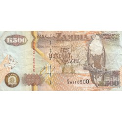Five Hundred Kwacha - Zambie
