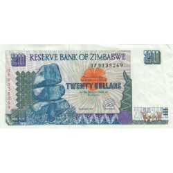 Twenty Dollars - Zimbabwe