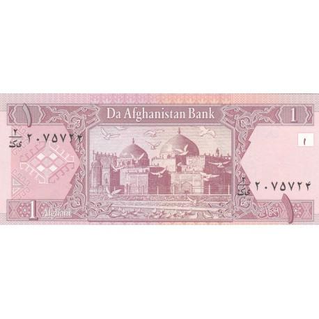 1 Afghani - Afghanistan