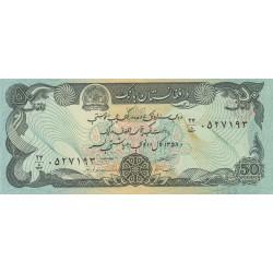 50 Afghanis - Afghanistan
