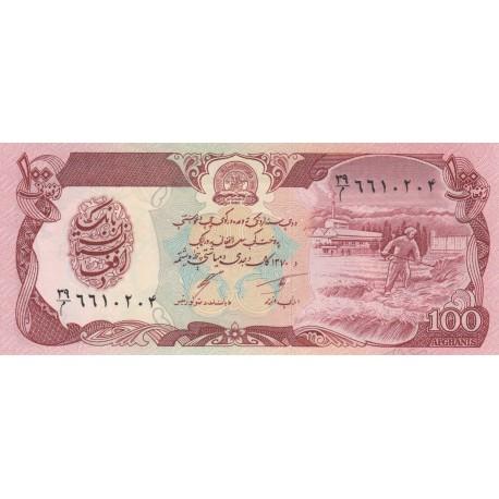 100 Afghanis - Afghanistan